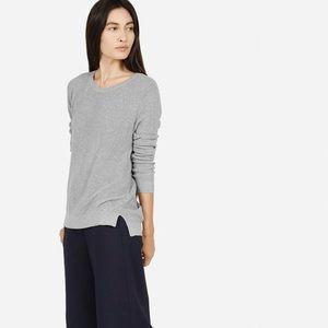 EVERLANE • cotton crew sweater